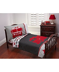 Carter's Fire Truck 4 Piece Toddler Bed Set