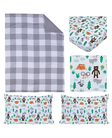 Carter's Woodland Boy 4 Piece Toddler Bed Set