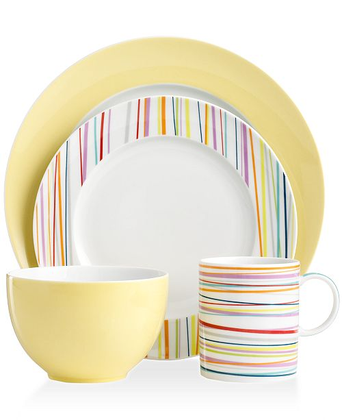 Rosenthal THOMAS by Dinnerware, Sunny Day Mix and Match Collection