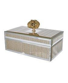 Sullivan Striped Decorative Box, Medium