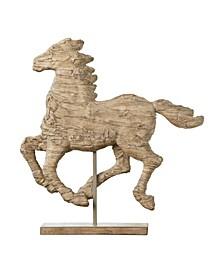 Defiance Spirited Polyresin Horse Accent, Medium