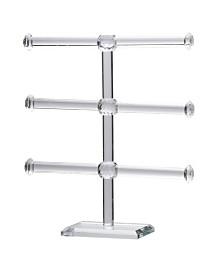 Mayfair 3-Tier Glass Jewelry Rack