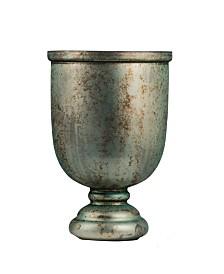 Emerald Green Vase with Shiny Finish