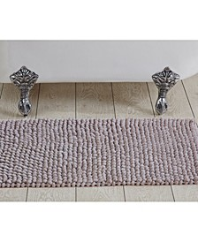 "Chenille Rocks Bath Rug 24"" x 36"""