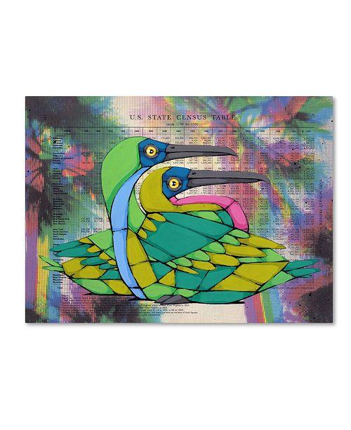 "Trademark Global Ric Stultz 'A Shared Point Of View' Canvas Art - 19"" x 14"" x 2"""