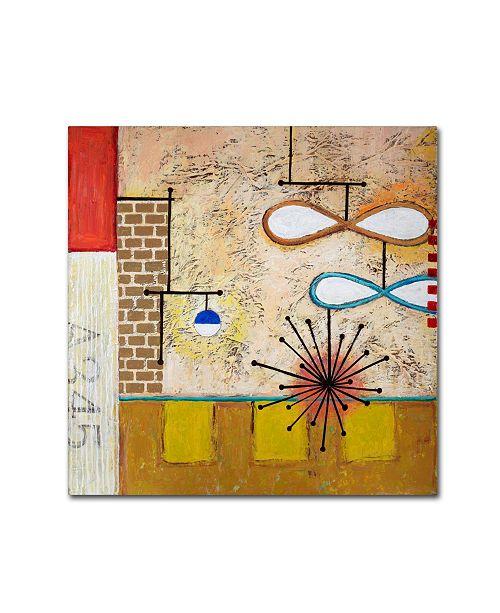 "Trademark Global Rachel Paxton 'Urban Balance' Canvas Art - 24"" x 24"" x 2"""