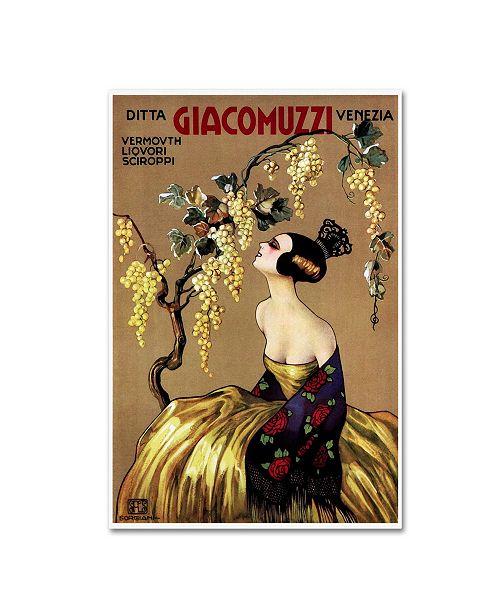 """Trademark Global Vintage Lavoie 'Ads-0082' Canvas Art - 32"""" x 22"""" x 2"""""""