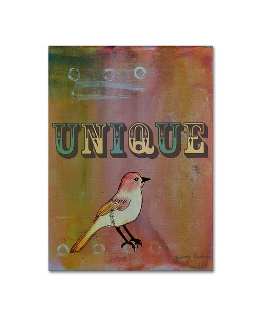 "Trademark Global Tammy Kushnir 'Unique' Canvas Art - 19"" x 14"" x 2"""