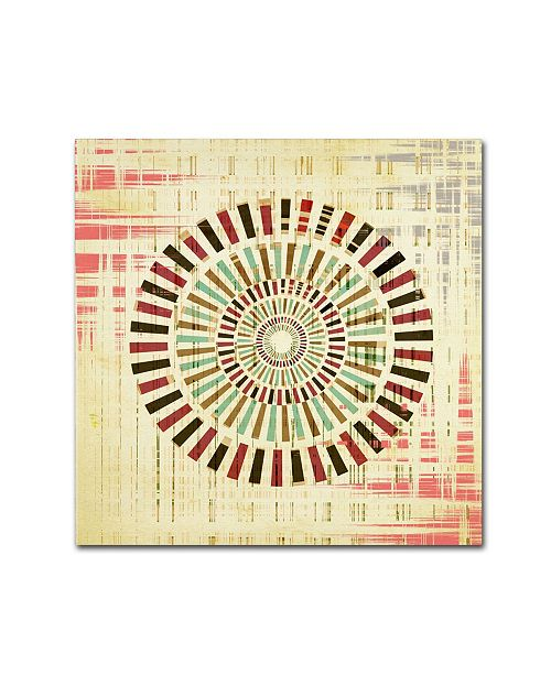 "Trademark Global Tammy Kushnir 'Roulette' Canvas Art - 14"" x 14"" x 2"""