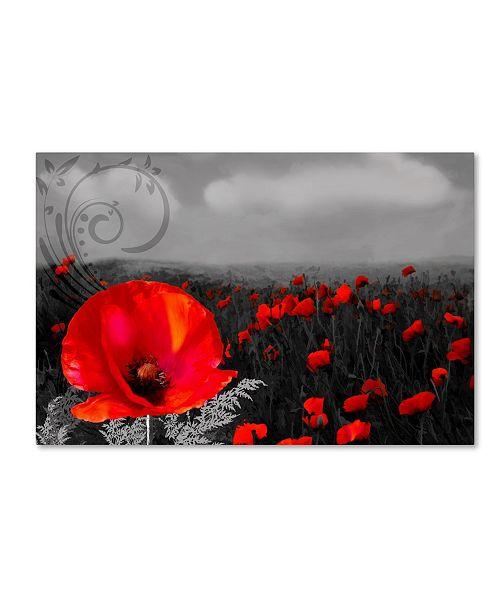 "Trademark Global Tina Lavoie 'Rainy Day Acapella' Canvas Art - 47"" x 30"" x 2"""