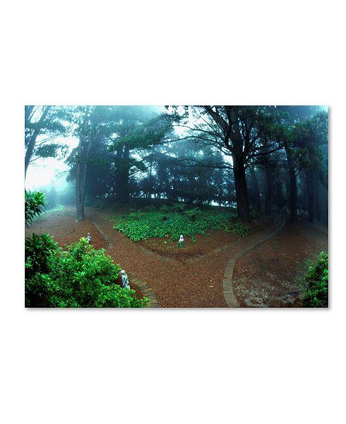 """Trademark Global Robert K Jones 'Blue Mountains 1' Canvas Art - 47"""" x 30"""" x 2"""""""