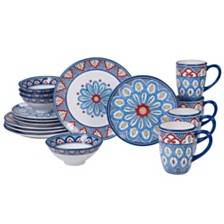 Certified International Tangier 16-Pc. Dinnerware Set