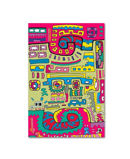 """Trademark Global Miguel Balbas 'Connections' Canvas Art - 47"""" x 30"""" x 2"""""""