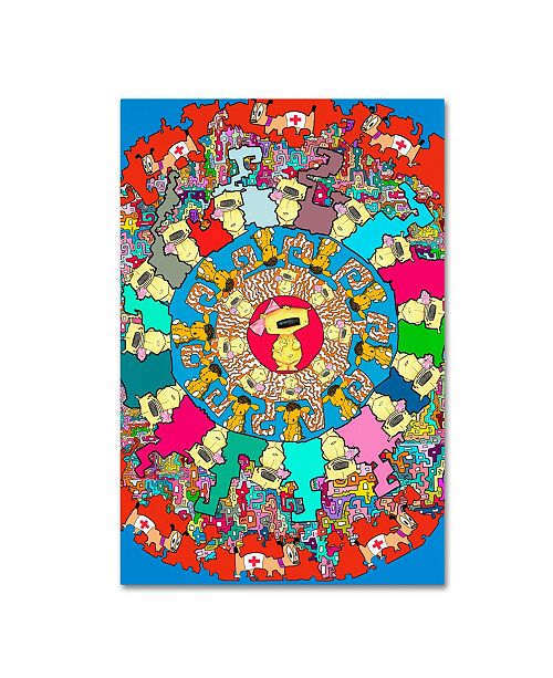 "Trademark Global Miguel Balbas 'Soft Toys' Canvas Art - 24"" x 16"" x 2"""