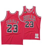 8fdfd4c9088 Mitchell   Ness Men s Michael Jordan Chicago Bulls Authentic Jersey