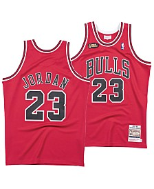 Mitchell & Ness Men's Michael Jordan Chicago Bulls Authentic Jersey