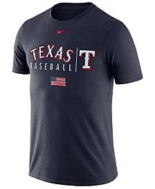 Nike Men's Texas Rangers Memorial Day Dri-FIT Practice T-Shirt