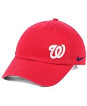big sale f50f3 d2bec Nike Women s Washington Nationals Offset Adjustable Cap