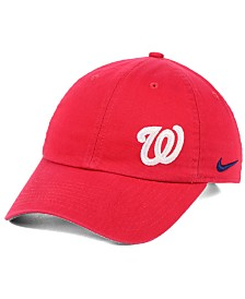 Nike Women's Washington Nationals Offset Adjustable Cap