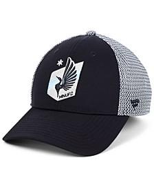 Authentic MLS Headwear Minnesota United FC Versalux Speed Flex Stretch Fitted Cap