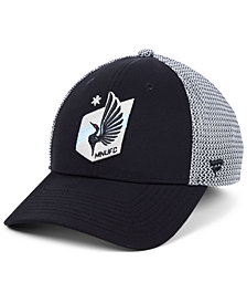 Authentic MLS Headwear Minnesota United FC Versalux Speed Flex Stretch Fitted Cap