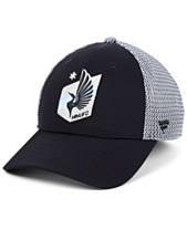 d139ced424dc1 Authentic MLS Headwear Minnesota United FC Versalux Speed Flex Stretch  Fitted Cap