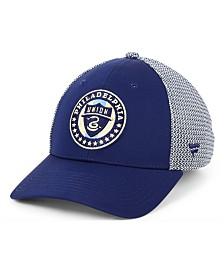 Authentic MLS Headwear Philadelphia Union Versalux Speed Flex Stretch Fitted Cap