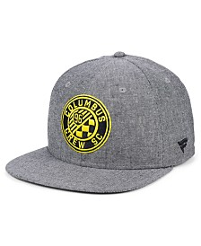 Authentic MLS Headwear Columbus Crew SC Chambray Snapback Cap