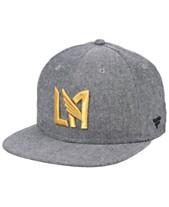 timeless design 447e1 d20d9 Authentic MLS Headwear Los Angeles Football Club Chambray Snapback Cap