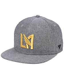 Authentic MLS Headwear Los Angeles Football Club Chambray Snapback Cap