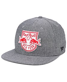 Authentic MLS Headwear New York Red Bulls Chambray Snapback Cap