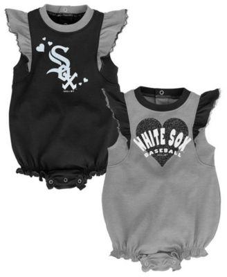OuterStuff Chicago White Sox Girls Toddler Dress 2 Piece Set