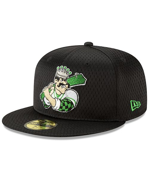 New Era Clinton LumberKings Batting Practice Mesh 59FIFTY-FITTED Cap
