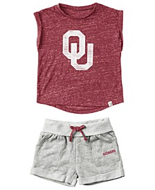 Oklahoma Sooners Cuffed T-Shirt and Short Set