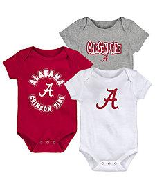 Outerstuff Baby Alabama Crimson Tide Everyday Fan 3 Piece Creeper Set