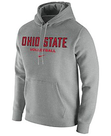 Nike Men's Ohio State Buckeyes Core Volleyball Hooded Sweatshirt