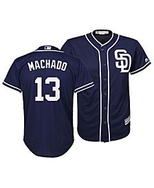 Big Boys Manny Machado San Diego Padres Player Replica Cool Base Jersey