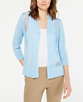 3b08336d4e1532 blue cardigan - Shop for and Buy blue cardigan Online - Macy's