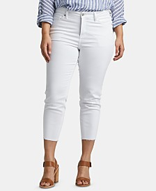 Silver Jeans Co. Trendy Plus Size Cropped Skinny Jeans