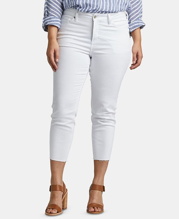 Silver Jeans Co. Plus Size Cropped Skinny Jeans