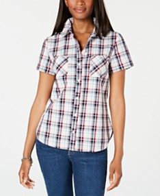 71e2ab6d6 Plaid Shirts For Women: Shop Plaid Shirts For Women - Macy's