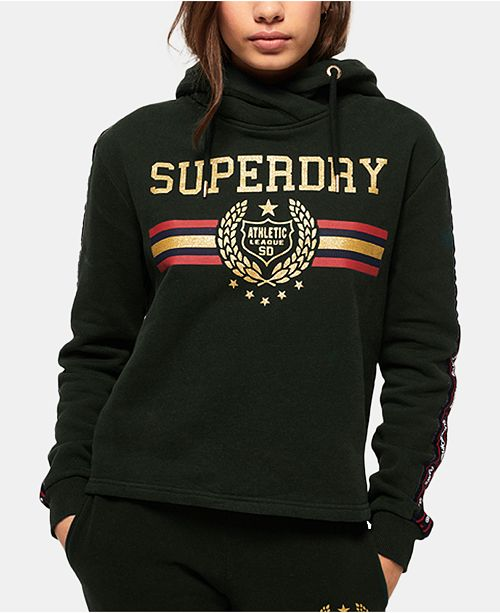 Superdry Gia Graphic Tape Hoodie