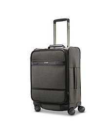Herringbone DLX Domestic Carry-On Expandable Spinner Suitcase