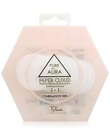 Pure Aura Paper Cloud - Combination Skin