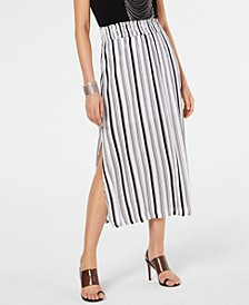 INC Crinkle Gauze Maxi Skirt, Created for Macy's