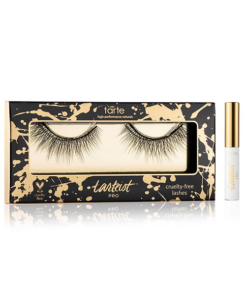 Tarte Flirty Lashes for Prom Night! Tarteist™ PRO Cruelty Free Lashes and Your choice of Black or Clear Adhesive - Only $12! A $21 Value!