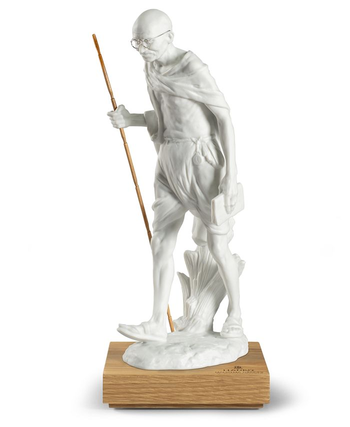 Lladró - Mahatma Gandhi 150th-Anniversary Figurine