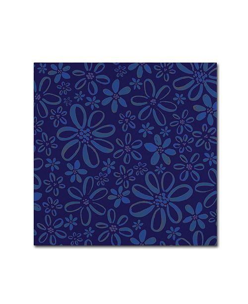 "Trademark Global Yachal Design 'Dancing Petals 100' Canvas Art - 24"" x 24"" x 2"""