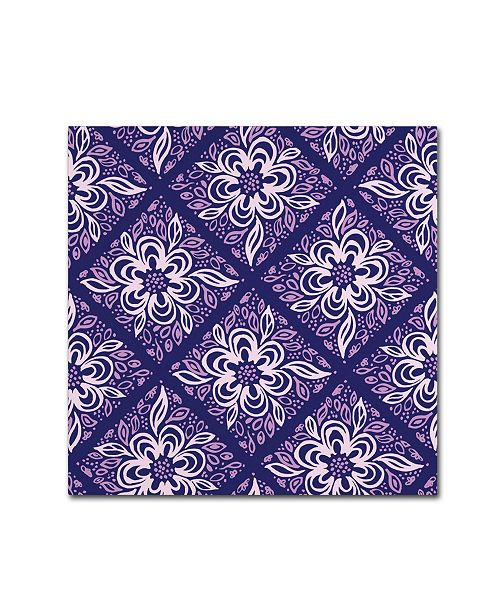 "Trademark Global Yachal Design 'Dancing Petals 200b' Canvas Art - 24"" x 24"" x 2"""