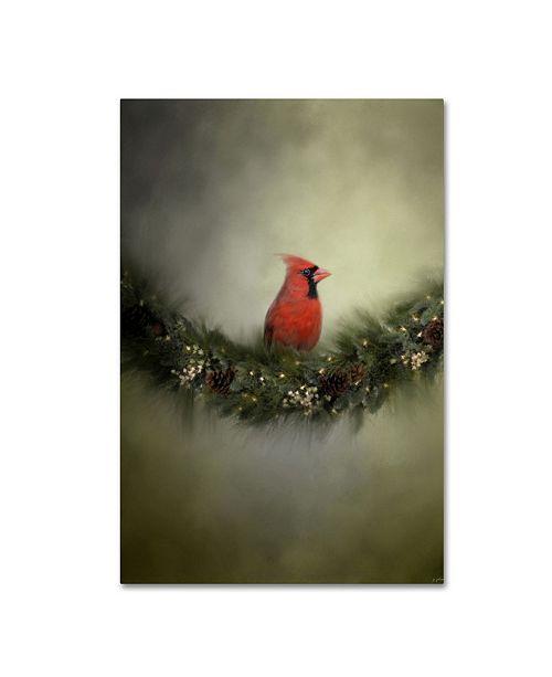 "Trademark Global Jai Johnson 'Waiting On Christmas' Canvas Art - 32"" x 22"" x 2"""